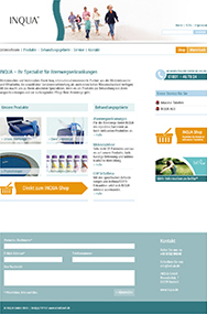 Redesign INQUA-Webseite. Creationell.